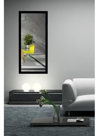 Chic Life Chic Life Dekoratif Boy Aynası - Siyah Çerçeve Siyah